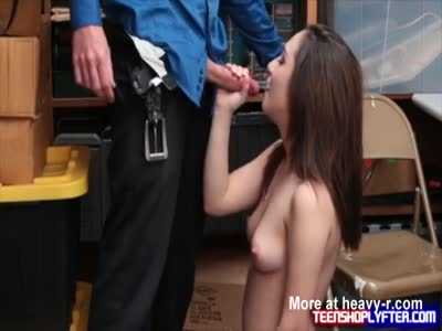 Teen Delinquent Get Out Of Jail Blowjob