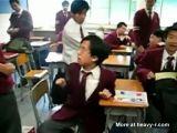 Asian Nerd Beaten Up By Entire Class