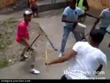 Machete Fight