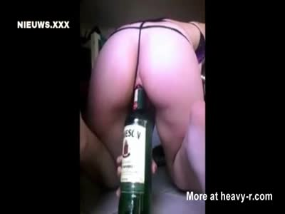 Fucking Whiskey Bottle