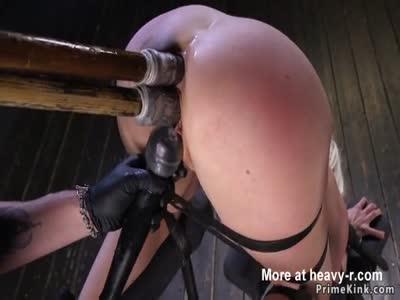 Double Penetration In Bondage