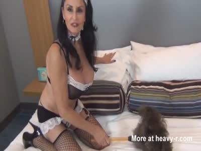 POV Fucking mature maid