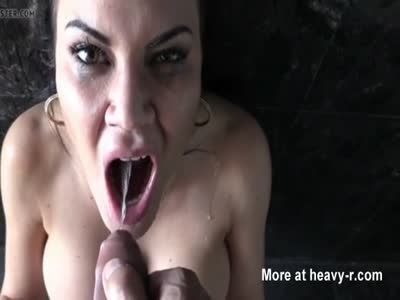 Piss And Cum Eating Slut
