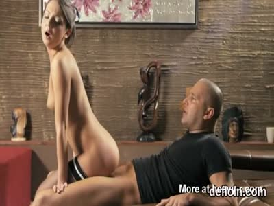 Teen Nympho Rides Old Cock
