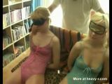 Two Amateurs Fucking Blindfolded