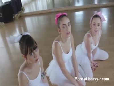 Fake Teacher Fucks Teen Ballerinas