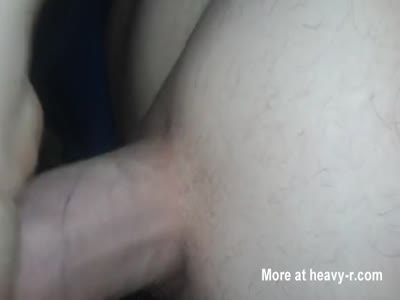 Young guy huge load