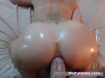 Oily Anal Sex