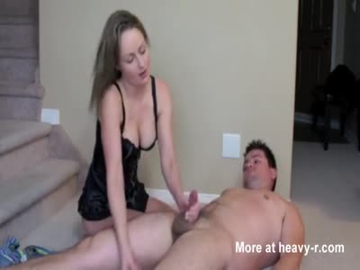Wife Giving Handjob