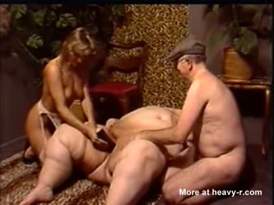 Old Fat Granny Getting Masturbated